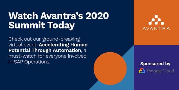 Avantra Summit 2020