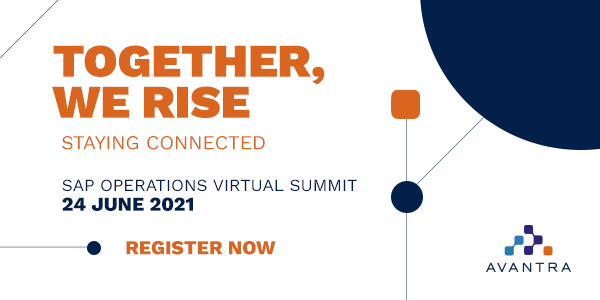 Avantra Summit June 2021
