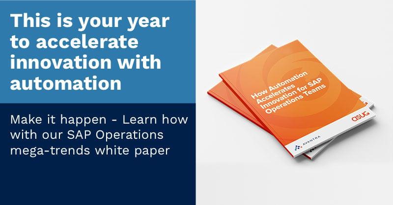 SAP Operations Teams Analysis | ASUG white paper